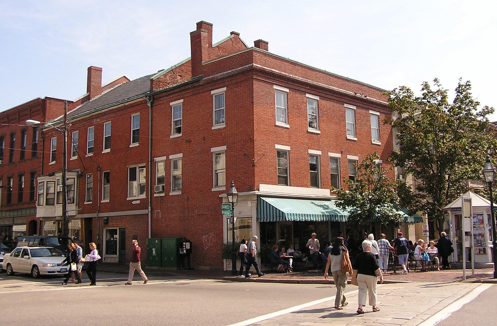 Market Square Office Exterior