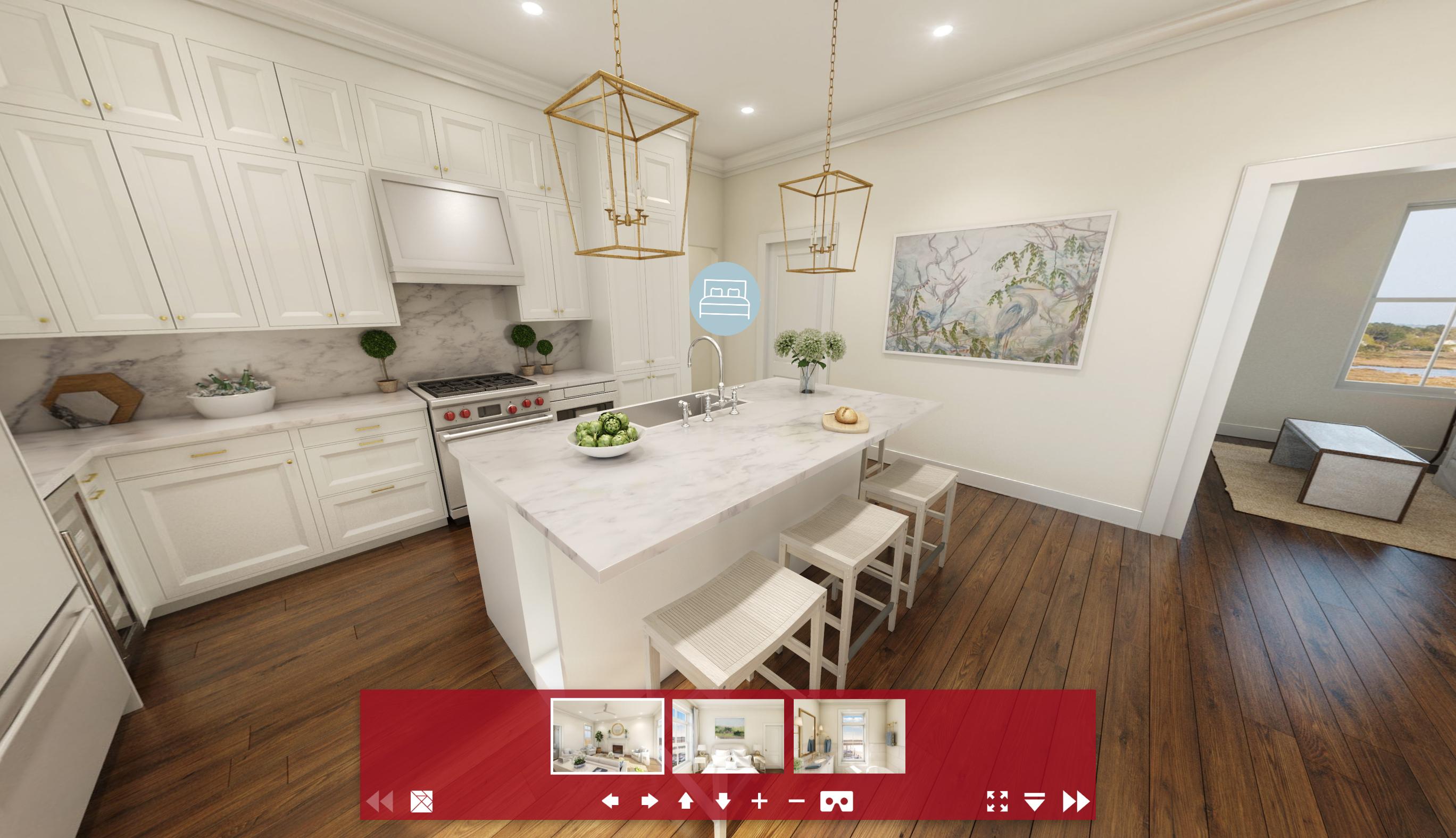 Residential Kitchen 360 VR-1